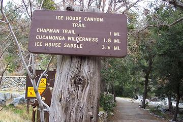 Icehouse Canyon Trailhead - San Gabriel Mountains - SoCal
