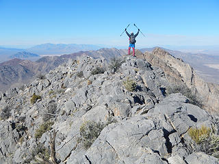 Pahrump Point summit