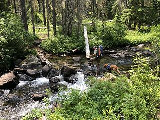 Crossing Meadow Creek