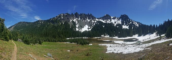Parting shot of Governors Ridge and Barrier
