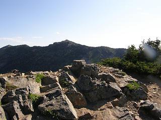 Crystal Peak true summit. It was me myself and I.