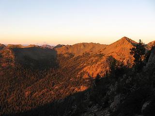 Sunrise on Longs Pass