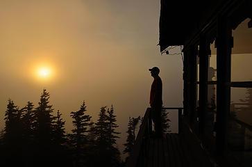 A Tolmie Peak Sunset