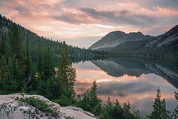 Toxaway Lake, Sawtooth Wilderness, Idaho