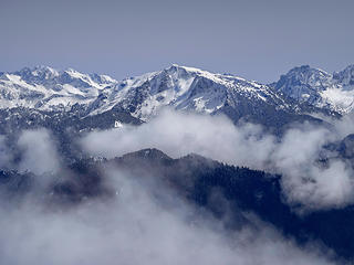 Big Snow Mtn from Mt Teneriffe (Apr)