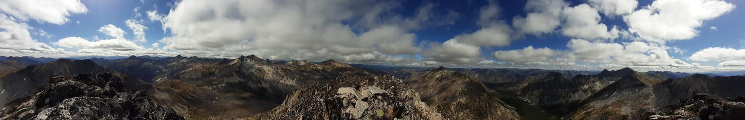 Pass Butte panorama