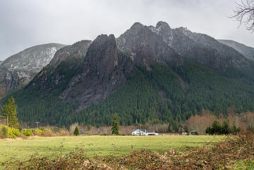 Mount Si from 428th Ave