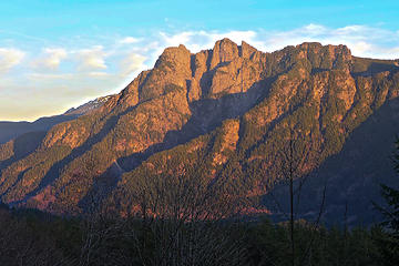 Feb: Russian Butte at sunset