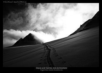 Castor Peak skin track II