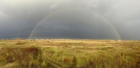 Full rainbow on Castle/Medicine Root Loop