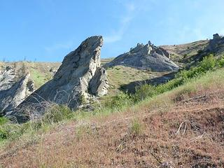 . . . and more pinnacles