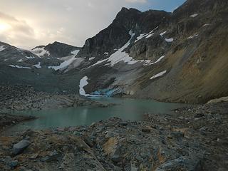 Parkhurst above the upper lake