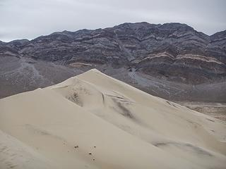 Sandy Peak behind the dunes