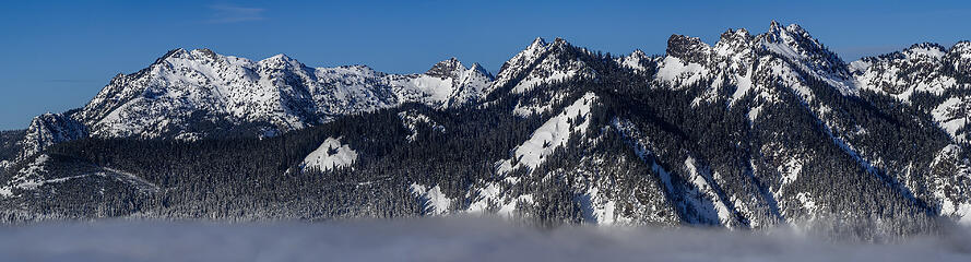 Snoqualmie Pass-North peaks