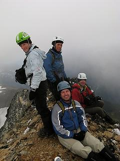 Group at Luahna summit