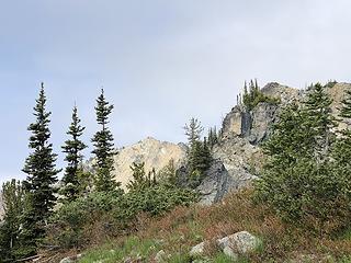 Nursery Peak in the distance