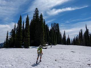 Nearing Buell's summit
