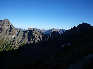on Crystal's upper slopes