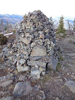 Memorial to Goat Peak lookouts.