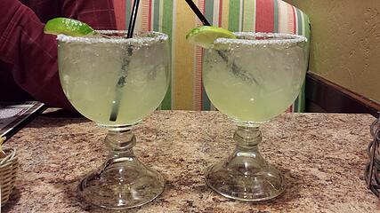 Post-hike margs