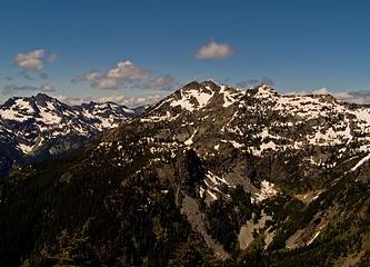 Snoqualmie Mountain and Chair Peak