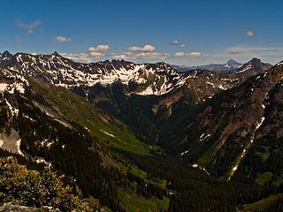 Gold Creek valley