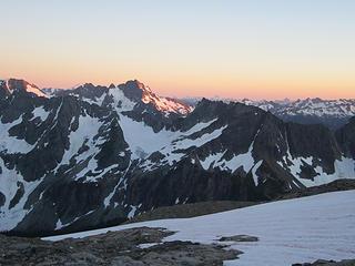 Sahale Glacier camp overnight 049