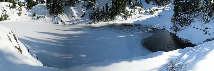 Shadows on Waterfall Lake