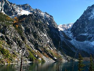 October Asgaard pass and Colchuck Lake....left side