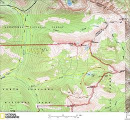 Stiletto Route Map