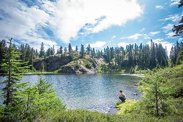 Nert Lake was surprisingly pretty