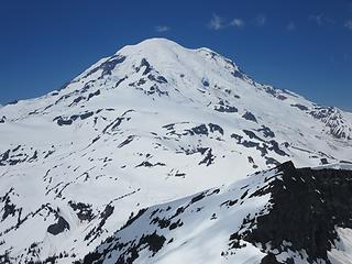 Rainier from Main Cowlitz summit