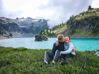 Last moments at Berdeen Lake