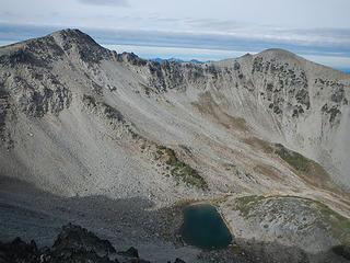 Fremont and north peaklet