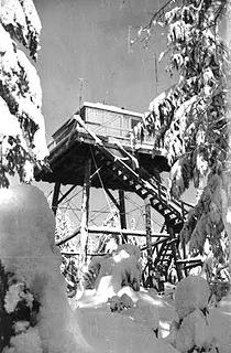 Rinker during the winter during the War as an AWS site