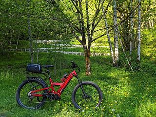Preston Snoqualmie Trail switchbacks