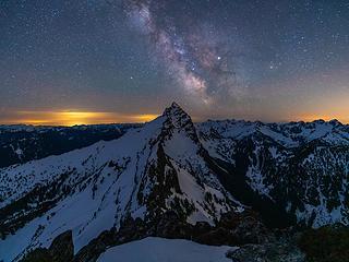 Milky way over Sloan