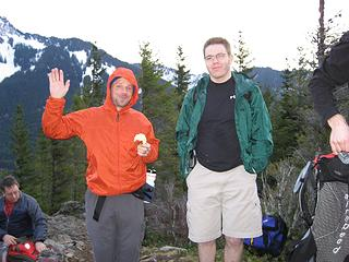 Chris and Daniel