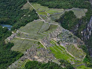 IT 4.6 Machu Picchu from summit of Winay Picchu
