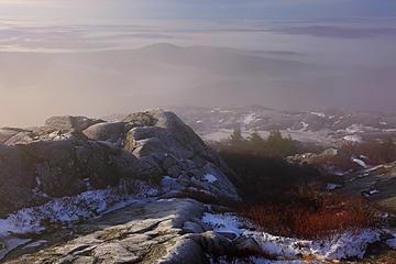 6- Glowing mist