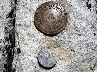 Remmel Summit Triangulation Point