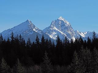 Bedal and Sloan Peaks
