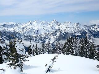 Chair Peak, Kaleetan, Roosevelt, Snow Lake