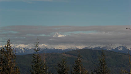Mt. Baker is under there!