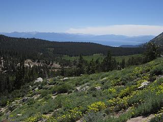 Fire SW of Tahoe