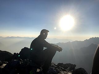 kyle on the summit
