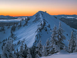 Granite Mountain at Dawn