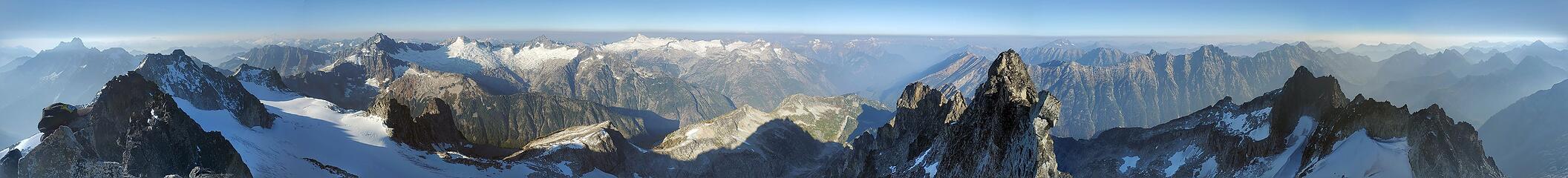 Summit Panorama, stitched by Google