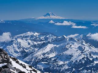 Mt. Adams from Anvil Rock