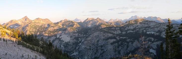 Early a.m. mountain views